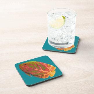 Aspen Leaf Tropical Fish 1 Coaster