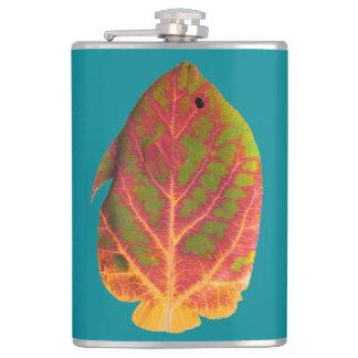 Aspen Leaf Tropical Fish 1 Flasks