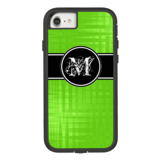 Aspen Lime Monogram Cover For iPhone 8/7