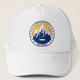Aspen Mountain Colorado Trucker Hat