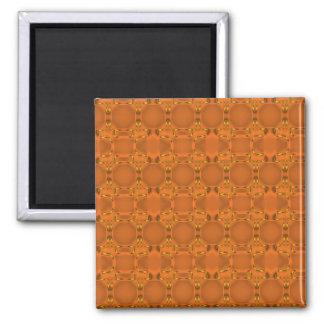 Aspen Orange Mesh Magnet