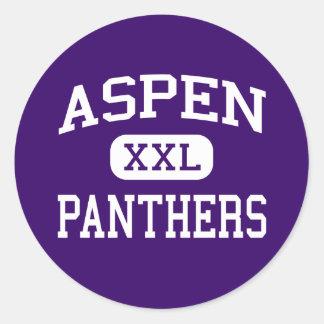 Aspen - Panthers - High School - Robbins Illinois Sticker