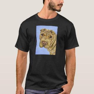 Aspen - Shar Pei Dog Art T-Shirt