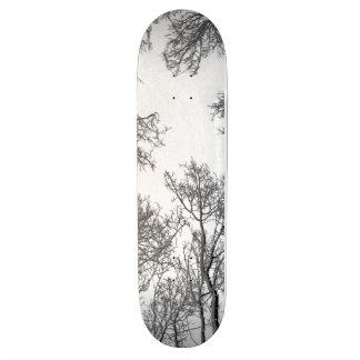 Aspen Skateboard Deck - White Night