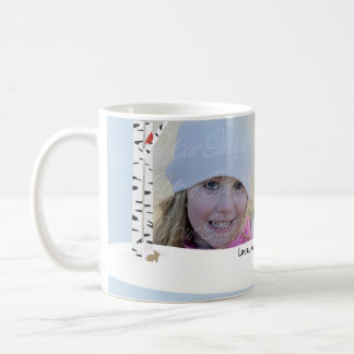 Aspen Snow Holiday Photo Mug