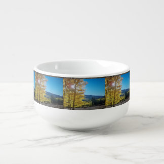 Aspen Sunrise Soup Mug