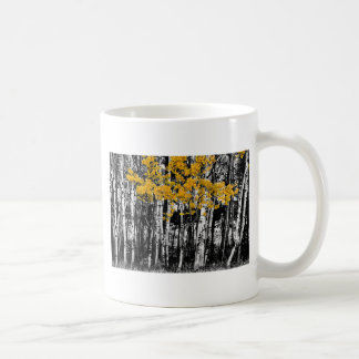 Aspen Touch of Orange Coffee Mug