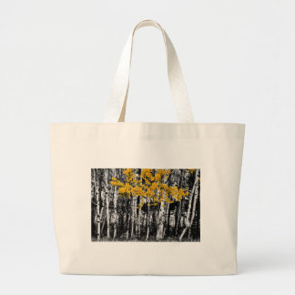 Aspen Touch of Orange Large Tote Bag