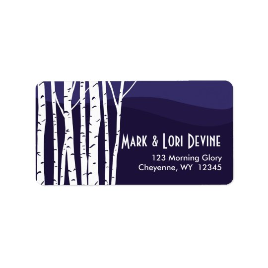 Aspen tree mountain designer labels