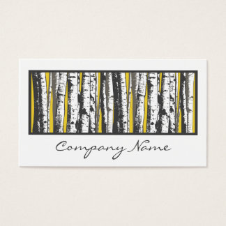 aspen trees business card