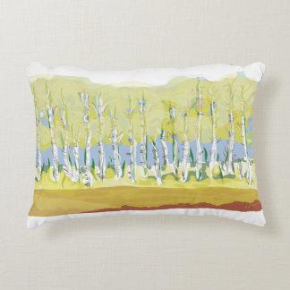 Aspen Trees hand painted original Lumbar Pillow