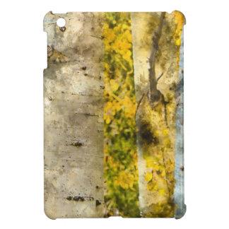 Aspen Trees in Autumn iPad Mini Case