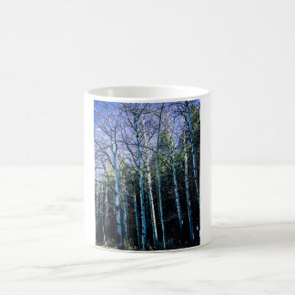 Aspen trees in the fall coffee mug
