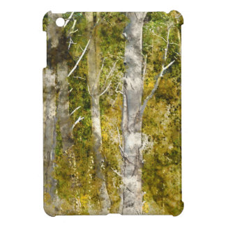 Aspen Trees in the Fall Cover For The iPad Mini