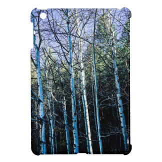 Aspen trees in the fall iPad mini covers