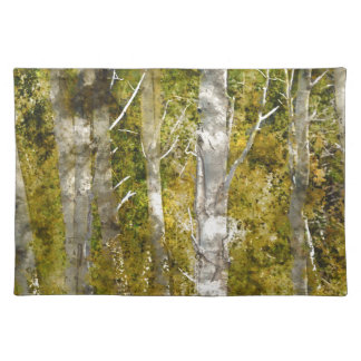Aspen Trees in the Fall Placemat