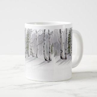 Aspen winter mug