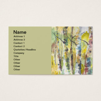 Aspens Business Card