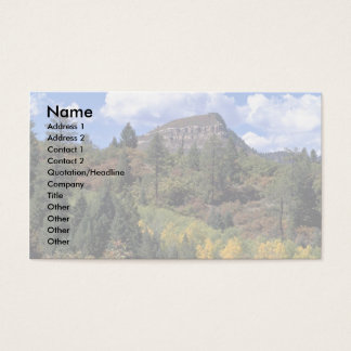 Aspens, Colorado Rockies Business Card