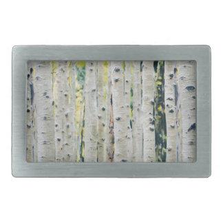 Aspens Forest - Painted Belt Buckles