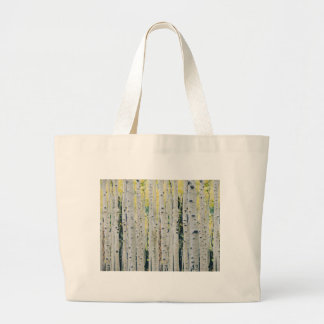 Aspens Forest - Painted Large Tote Bag