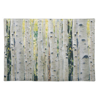Aspens Forest - Painted Placemat