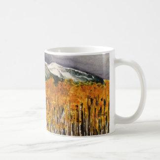 Aspens Watercolor Art CLassic Coffee Mug
