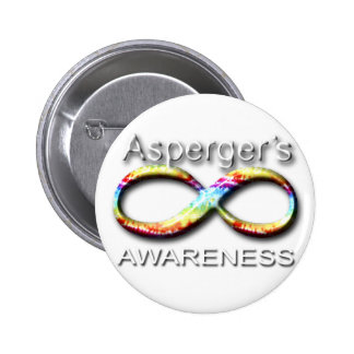 Aspergers Awareness 6 Cm Round Badge