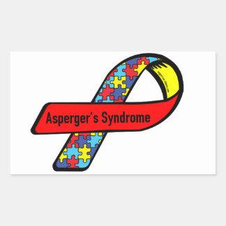 Aspergers Awareness Rectangular Sticker