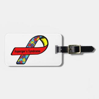 Aspergers Awareness Travel Bag Tags