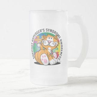 Asperger's Syndrome Cat Mugs