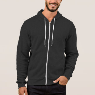Asphalt : California Fleece Zip Hoodie