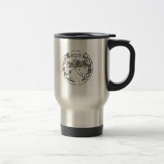 Asphalt Cowboy Stainless Steel Travel Mug 1