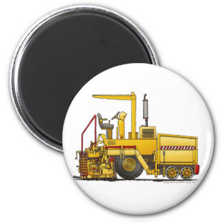 Asphalt Paving Machine Construction Magnets
