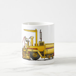 Asphalt Paving Machine Construction Mugs