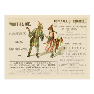 Aspinall's Enamel Postcard