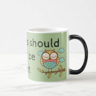 Aspirations Should Never Be Silent - Morphing Mug