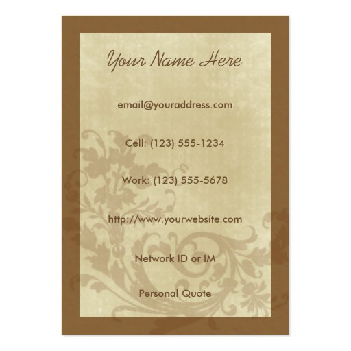 Aspire Urban Design Profile Card Business Cards