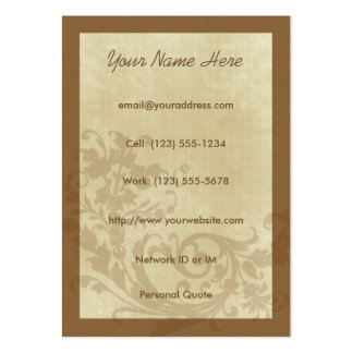 Aspire Urban Design Profile Card Pack Of Chubby Business Cards
