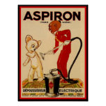 Aspiron Paris Teddy Bear Ad Poster