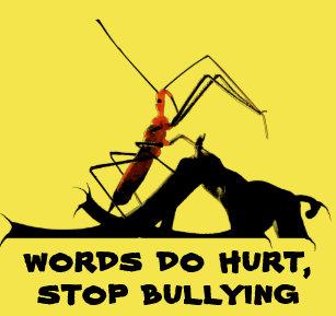 d8563f72 Assassin Bug Dagger Mouth Stop Bullying Awareness T-Shirt