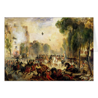 Assassination Attempt on King Louis-Philippe Card