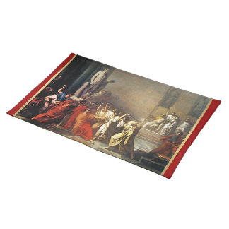 Assassination of Julius Caesar Placemat