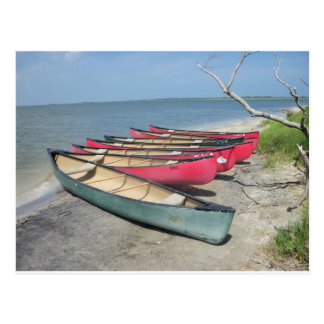 Assateague Canoes Postcard