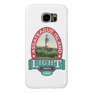 Assateague Island Light Samsung Galaxy S6 Cases