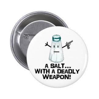 Assault! 6 Cm Round Badge