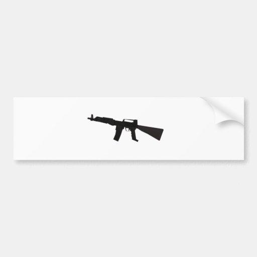 Assault Rifle Bumper Stickers