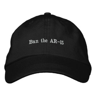 Assault Weapons Ban Embroidered Hat