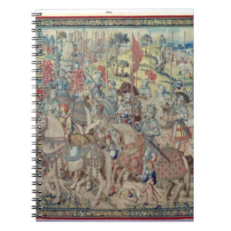 Assembling the Riders, from the tapestry of 'David Notebook
