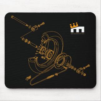 Assembly Diagram Mousepad